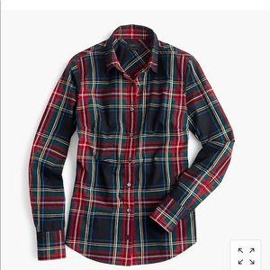 Jcrew perfect shirt sz 10